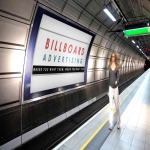 Tube Advertising in Abbot's Salford 12