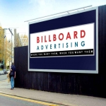 Billboard Sizes in Alford 5