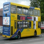 Tram Adverts UK in Dolau 6
