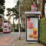 Road Side Advertising in Aston juxta Mondrum 3