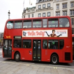 Tram Adverts UK in Dolau 7