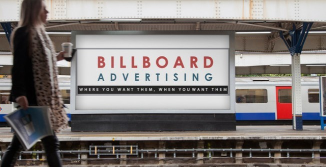 Outdoor Advertising in Abercanaid