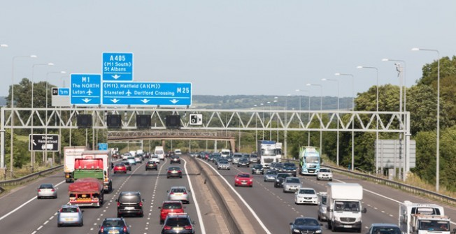 Motorway Billboards in Ouston